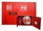 Hydrantový systém D25 s úložným boxem na hasicí přístroj