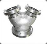 Hliníkový rozdělovač 110/75-75 mm