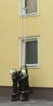 Hákový žebřík FG-115 tvar B 4,8 m