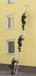 2-dílný vysouvací žebřík 10m