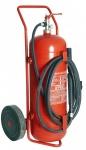 Τροχήλατος πυροσβεστήρας σκόνης 50 κιλ