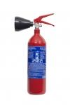 Přenosný hasicí přístroj CO2 2 kg - vyšší rating