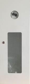 Kovová schránka pro hasicí přístroj 9/12 kg